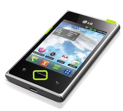 LG Optimus L3 hard reset