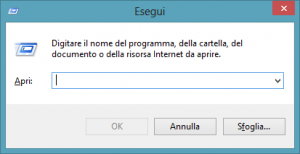Esegui Windows 8