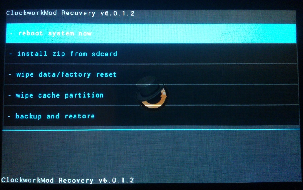 Recovery CWM P970