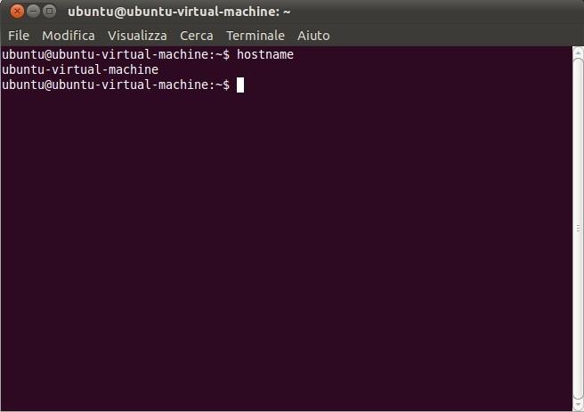 Terminale Ubuntu
