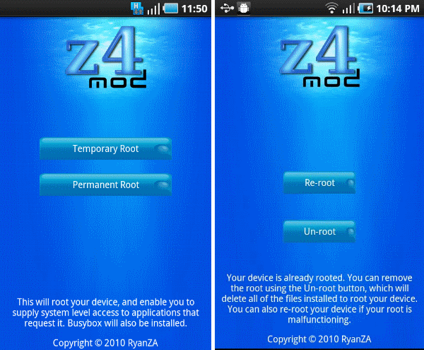 z4root download