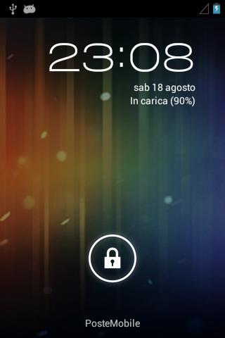 Huawei-Sonic-Android-4 Lockscreen