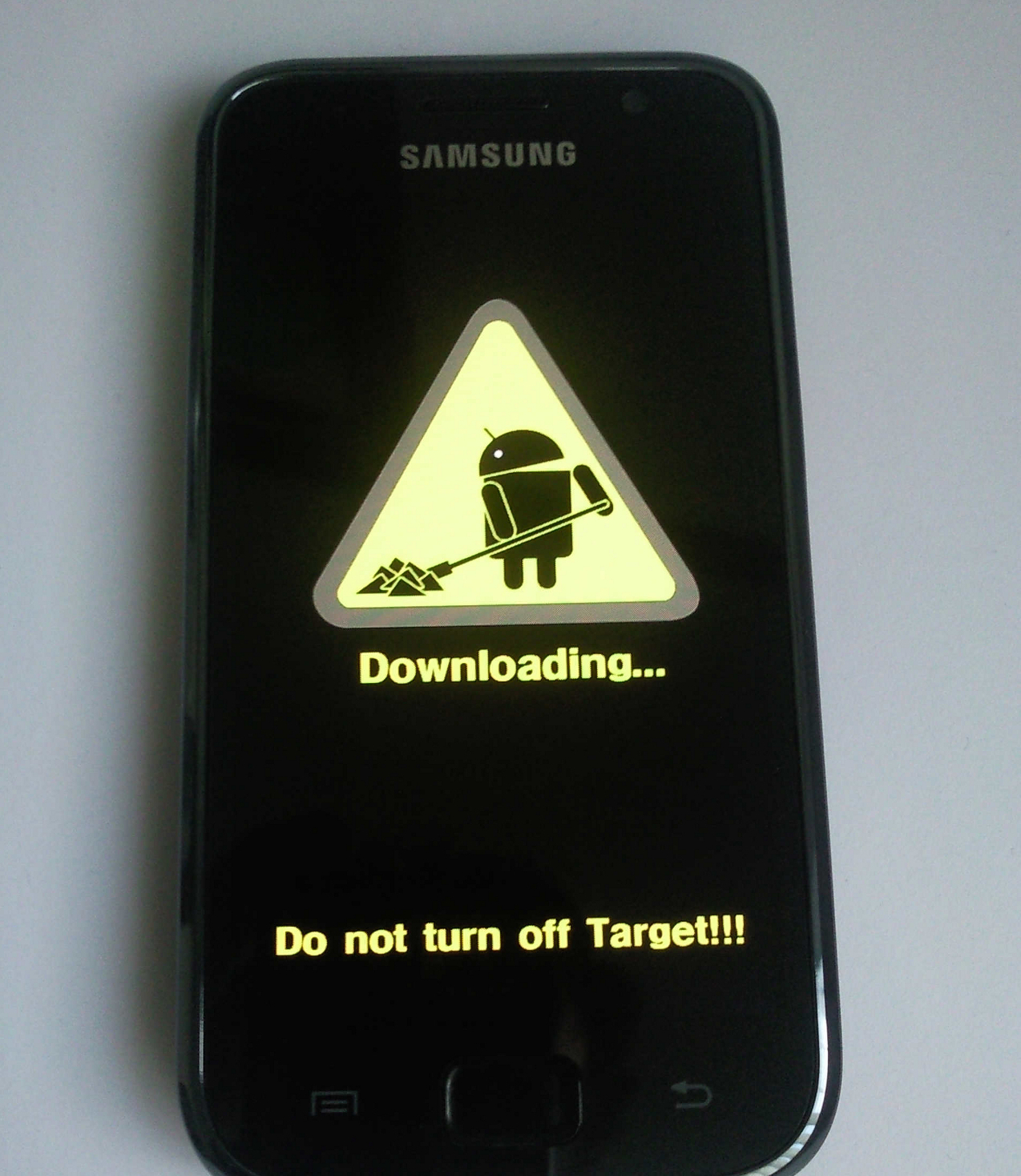 Download Mode Samsung Galaxy S1