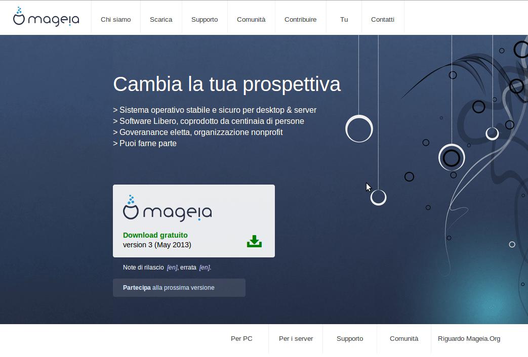 Mageia-3-homepage