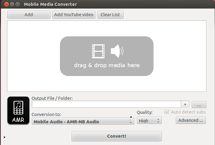Mobile-Media-Converter Linux