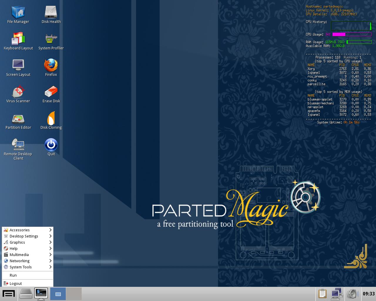 partedmagic linux