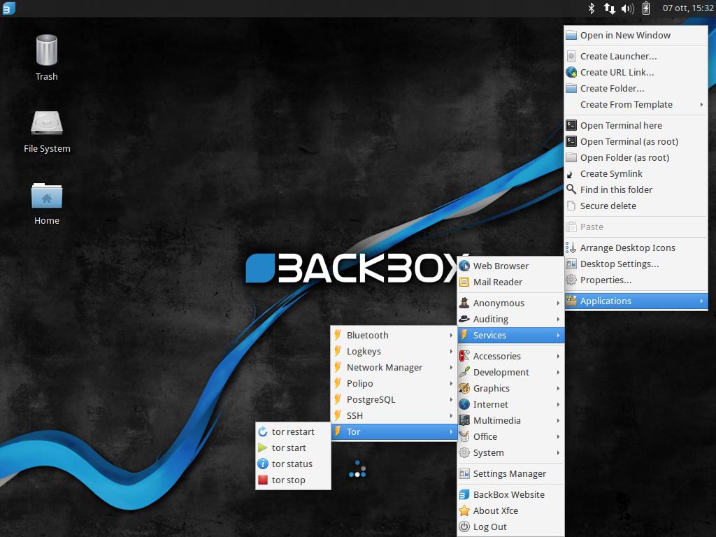 BackBox Linux 4
