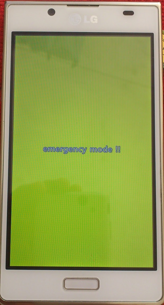 lg l7 p700 emergency mode