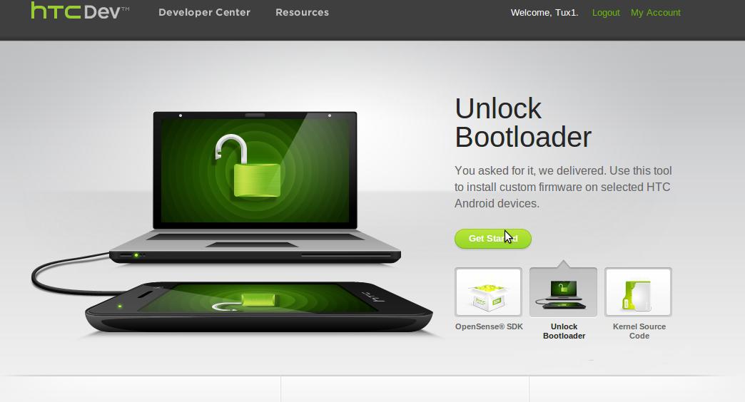 htc desire 500 sblocco bootloader