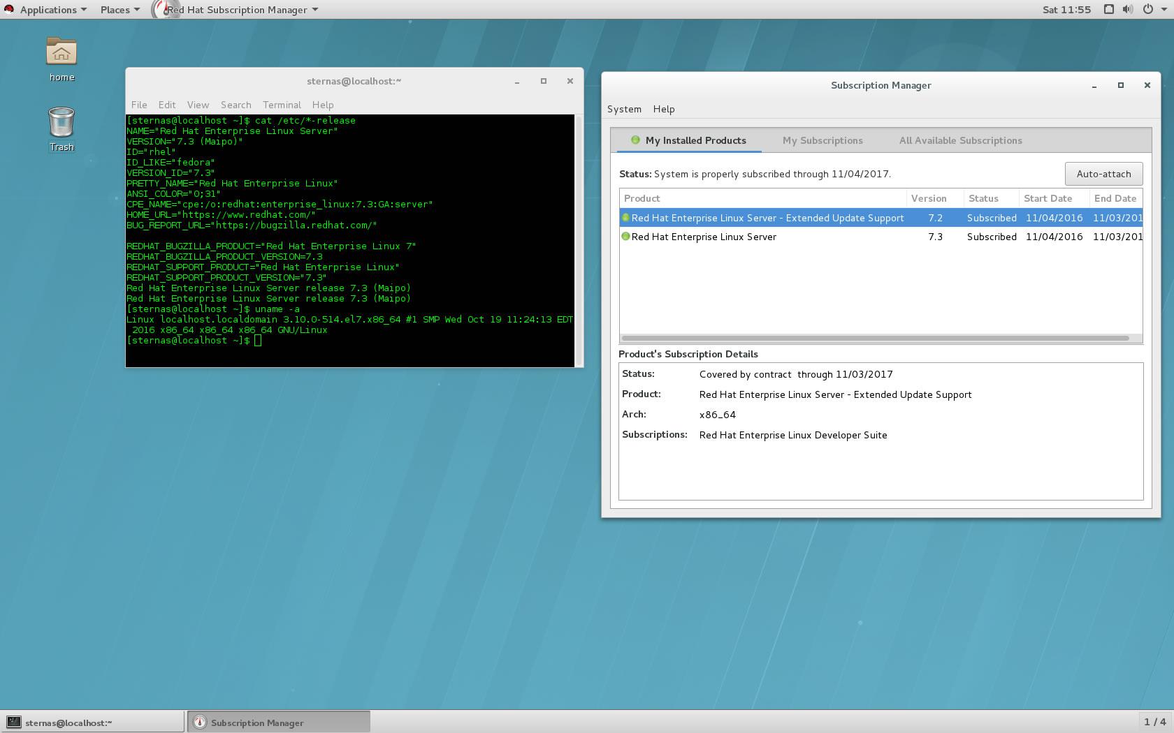 Red Hat Enterprise Linux 7 3, GNOME 3, Desktop – TuxNews it