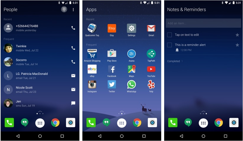 microsoft-arrow-launcher-android-screen