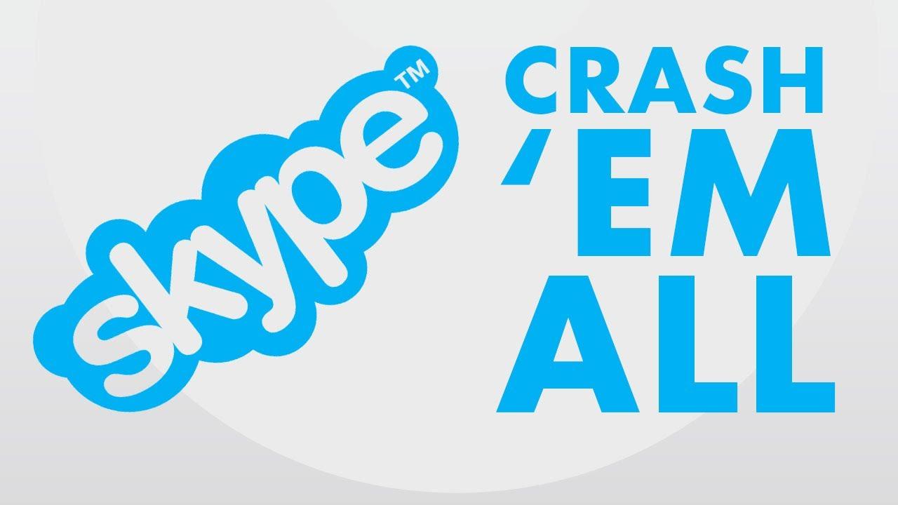 Mandare in crash Skype con un messaggio!