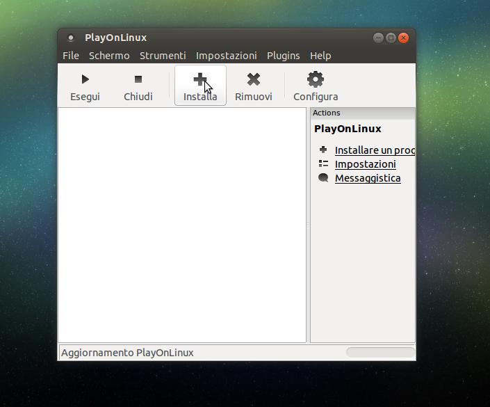 installare photoshop su linux
