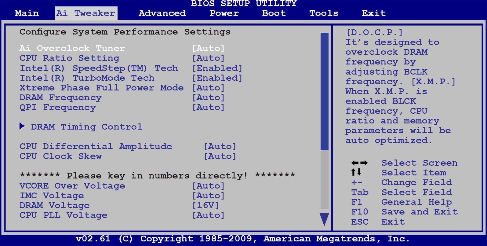 come entrare nel BIOS