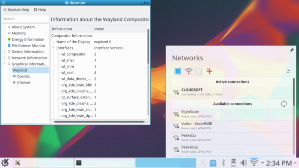KDE Plasma Wayland