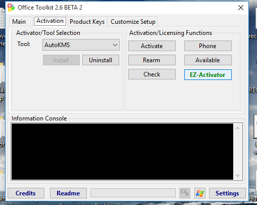 Microsoft Toolkit Activation