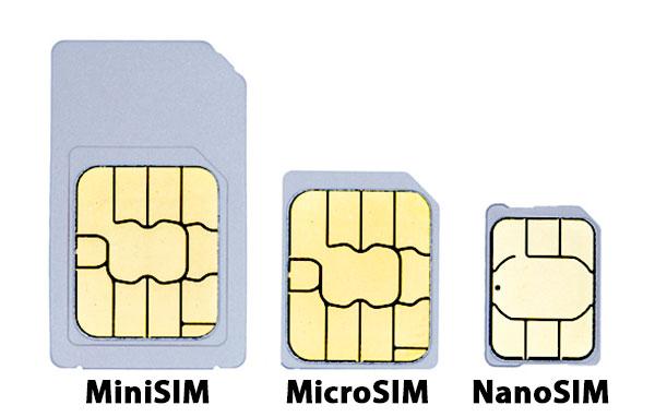 formati SIM