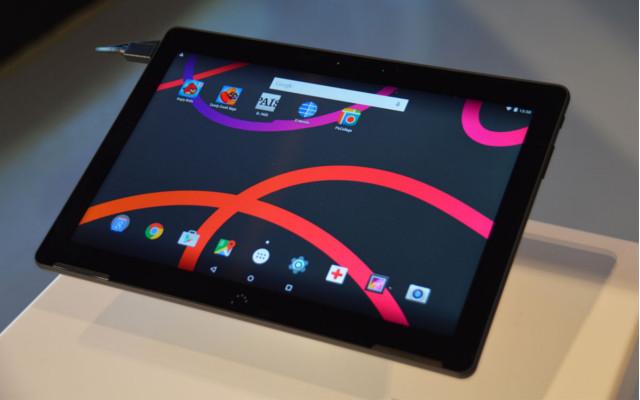 Bq Aquaris M10 con Android