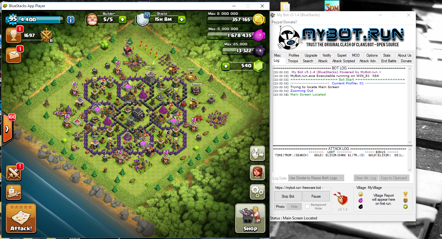 Clash of Clans Bot 5.1.4