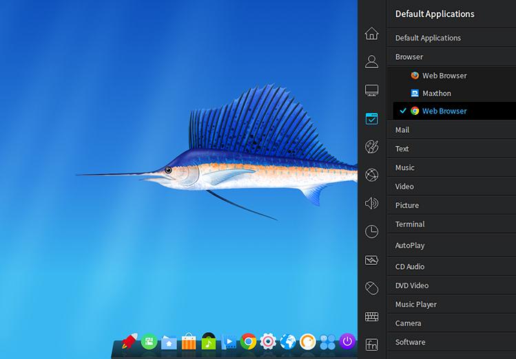 Linux Deepin 15.1