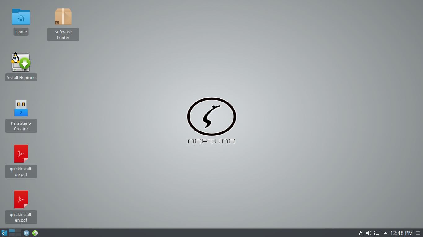 Neptune 4.5 KDE Plasma 5