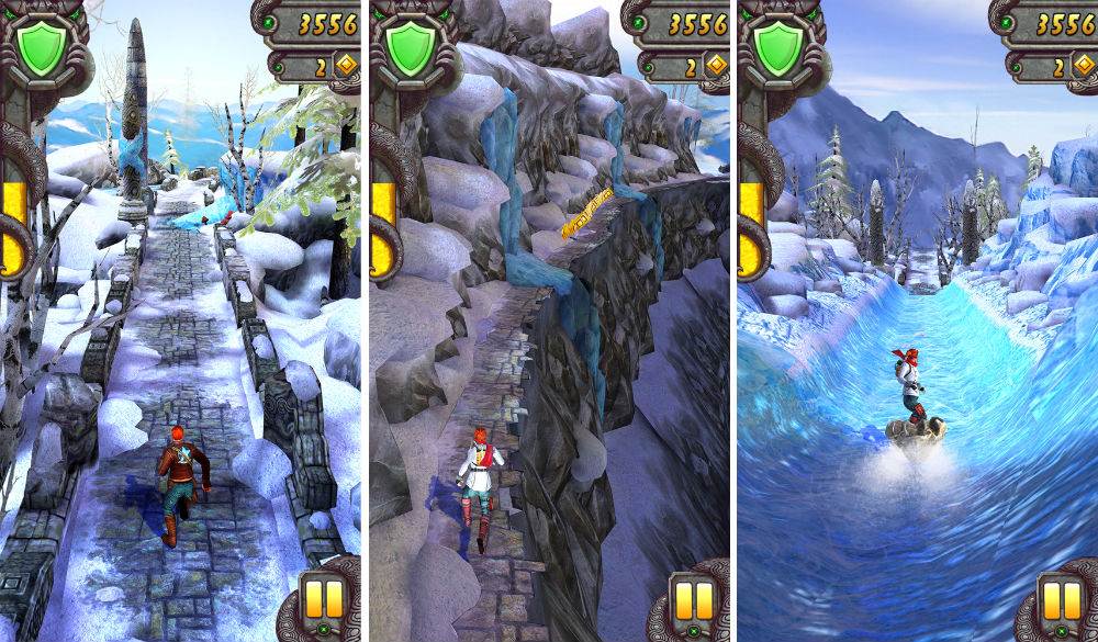Temple Run 2 Frozen Shadows mod apk