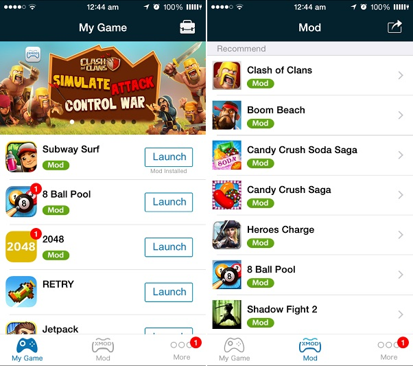 XModGames download apk