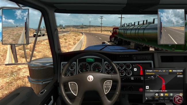 American truck simulator linux