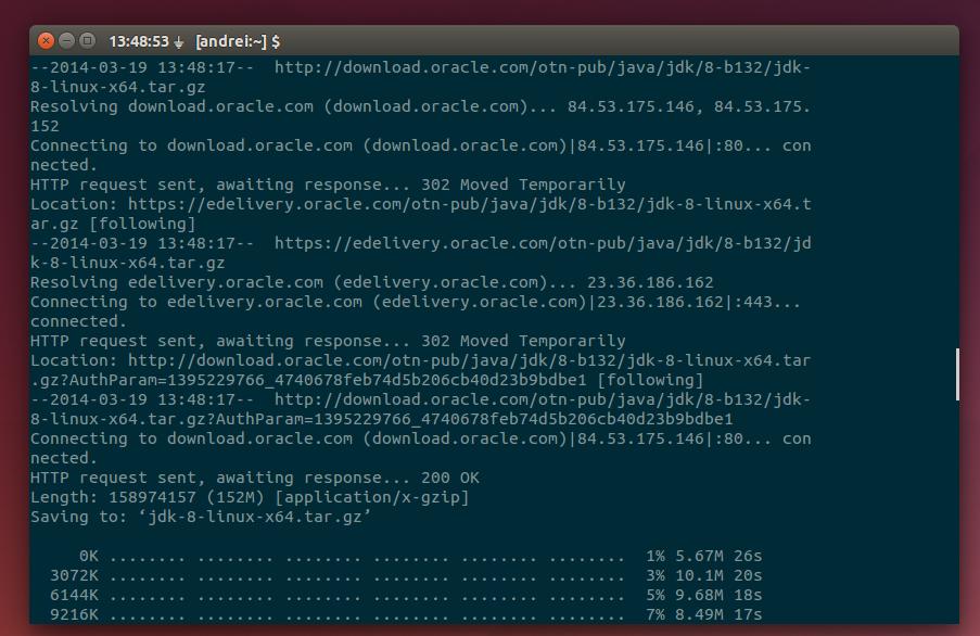 installare java 8 ubuntu