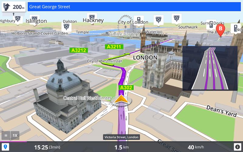 Una mappa in 3D che si nota di più (non dite a nessuno che quella a sinistra lo è pure).