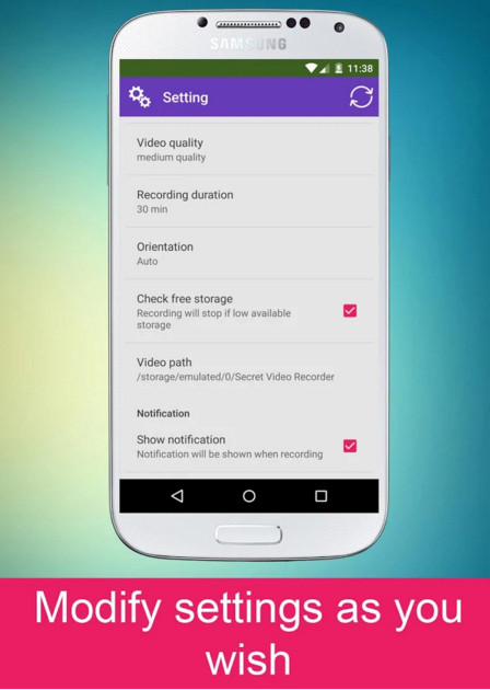 Secret video recorder pro apk