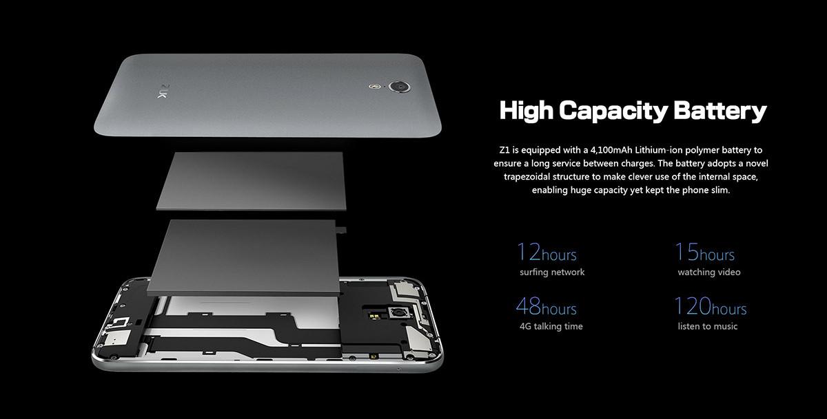 Lenovo Zukz1 batteria