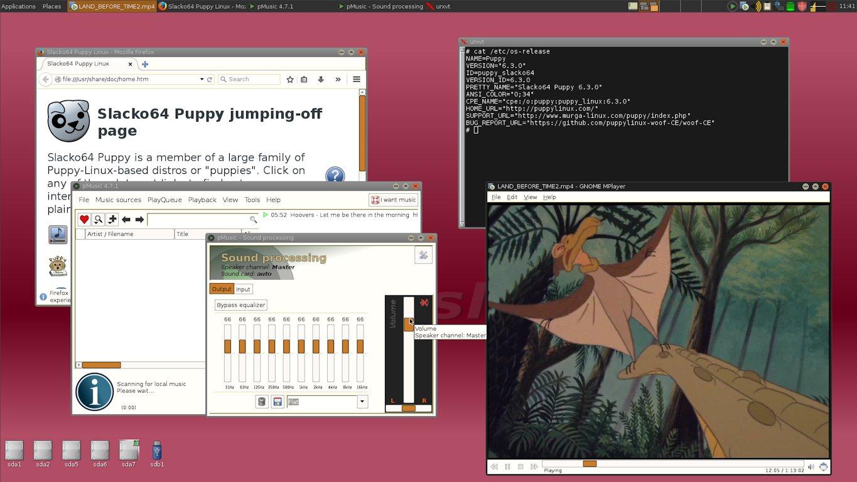 Puppy Linux slacko64
