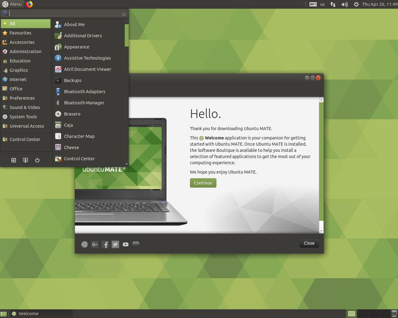 ubuntu mate � tuxnewsit