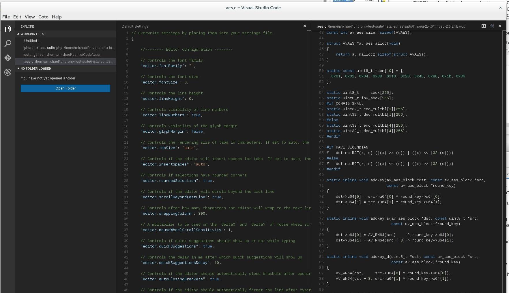 Visual Studio linux