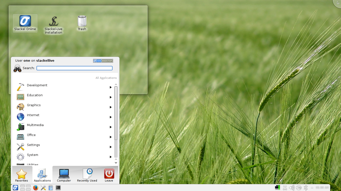 Slackel 6.0.5 KDE.
