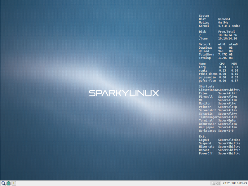 sparky4.3-bspwm