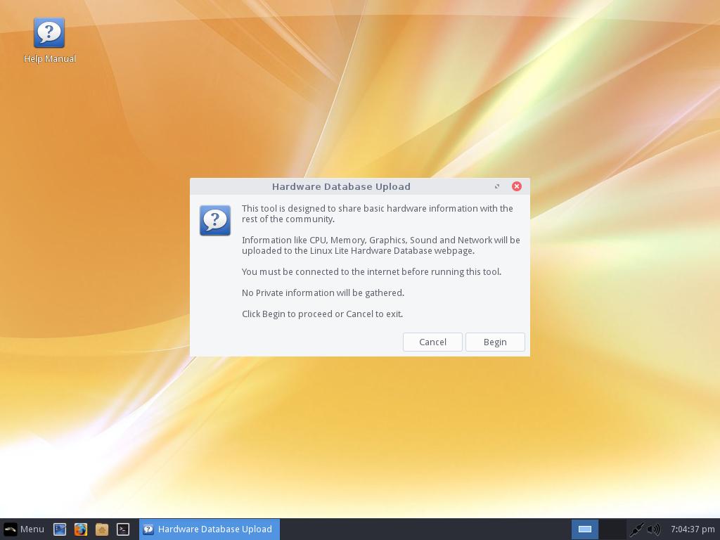 Linux lite info