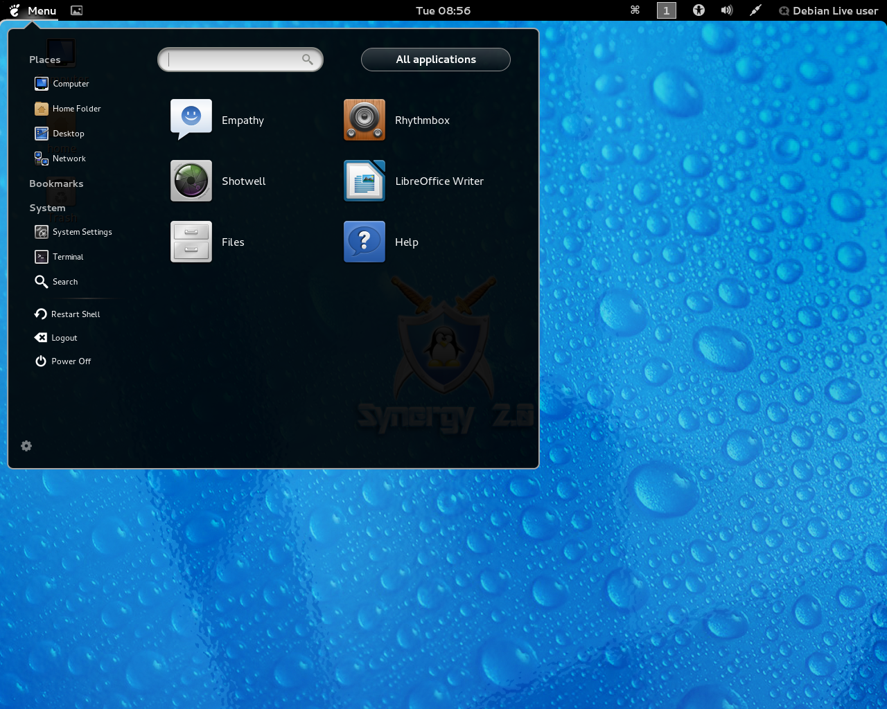 Rebellin 3.0 GNOME Shell