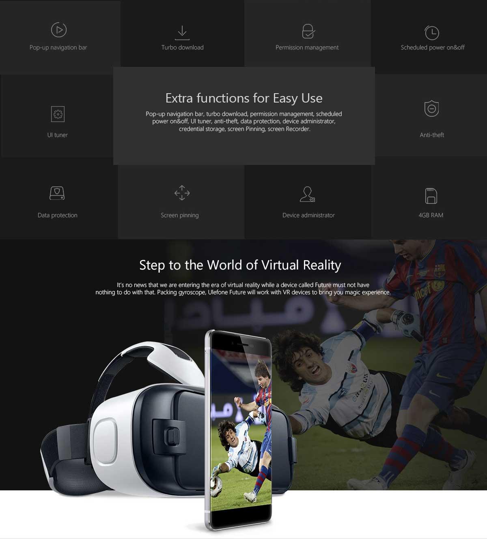 Ulefone future realtà virtuale
