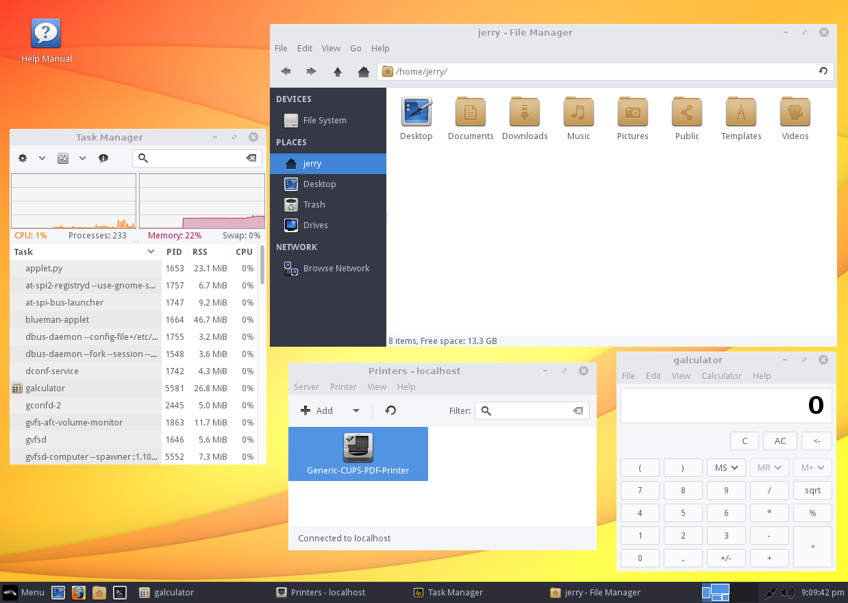 Linux Lite 3.0 desktop