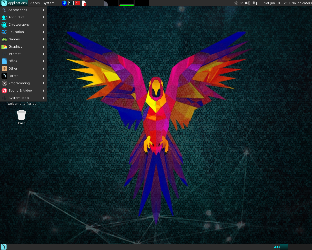 Parrot Security OS 3.0