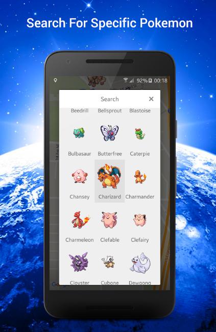 mappa pokemon
