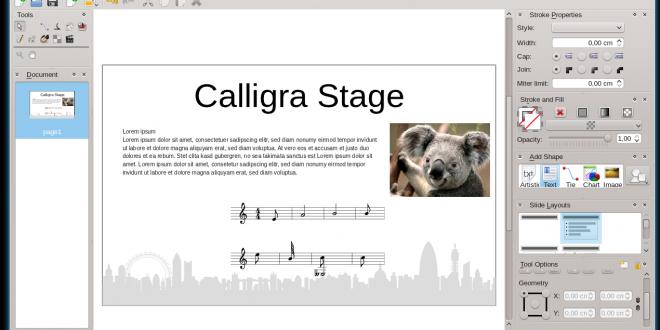 Calligra 3.0 rilasciata: la suite arriva in KDE Framework 5 e Qt5